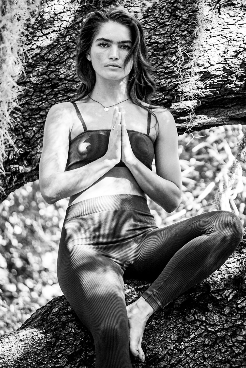 Hi! I'm Samantha. - Hometown: Sebring, FL.Instagram: @samantha_digiacomoWords I live by: Kindness / Where is the coffee?Teaching Style: Vinyasa, slow, mindful, strengthening & restorative.Favorite Pose: Reversed Warrior — I feel grounded to my mat the most during this pose & like that I get an amazing opening/stretch of the side body. It's the complete package of strengthening & stretching yumminess.Training: OM Movement 200HR YTT.Outside the Grove: My modeling career, pilates, a lot of miles on my feet running & even more miles on the bike cycling. I'm obsessed with a good spa session (steam/sauna). In between all of this — its all about my people & having a good time.Favorite Yoga tunes: A complete variety from Sade to Childish Gambino to calming sounds, whatever the mood of the day is bringing.Flow with Samantha ➝