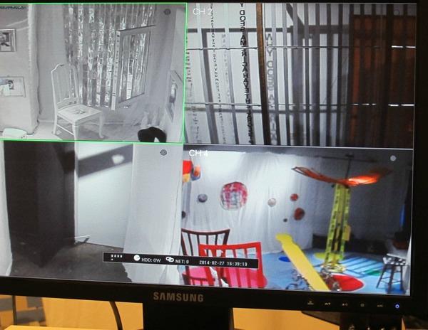 Surveillance Room Jeff Madeen