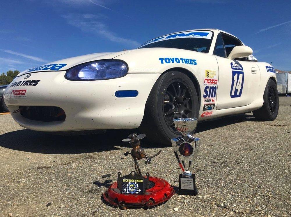 2016: Multiple Spec Miata Race Wins -