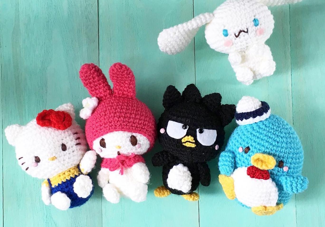 60ba0764e Hello Kitty Amigurumi Inspiration Photos & How to Create Your Own  Crocheted Hello Kitty Dolls