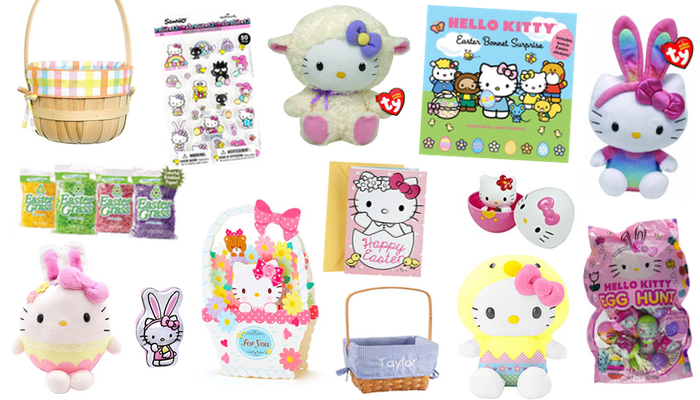 7ba1dbff2 Celebrating Easter with Hello Kitty: Cute Plushies, Books, & More For  Your