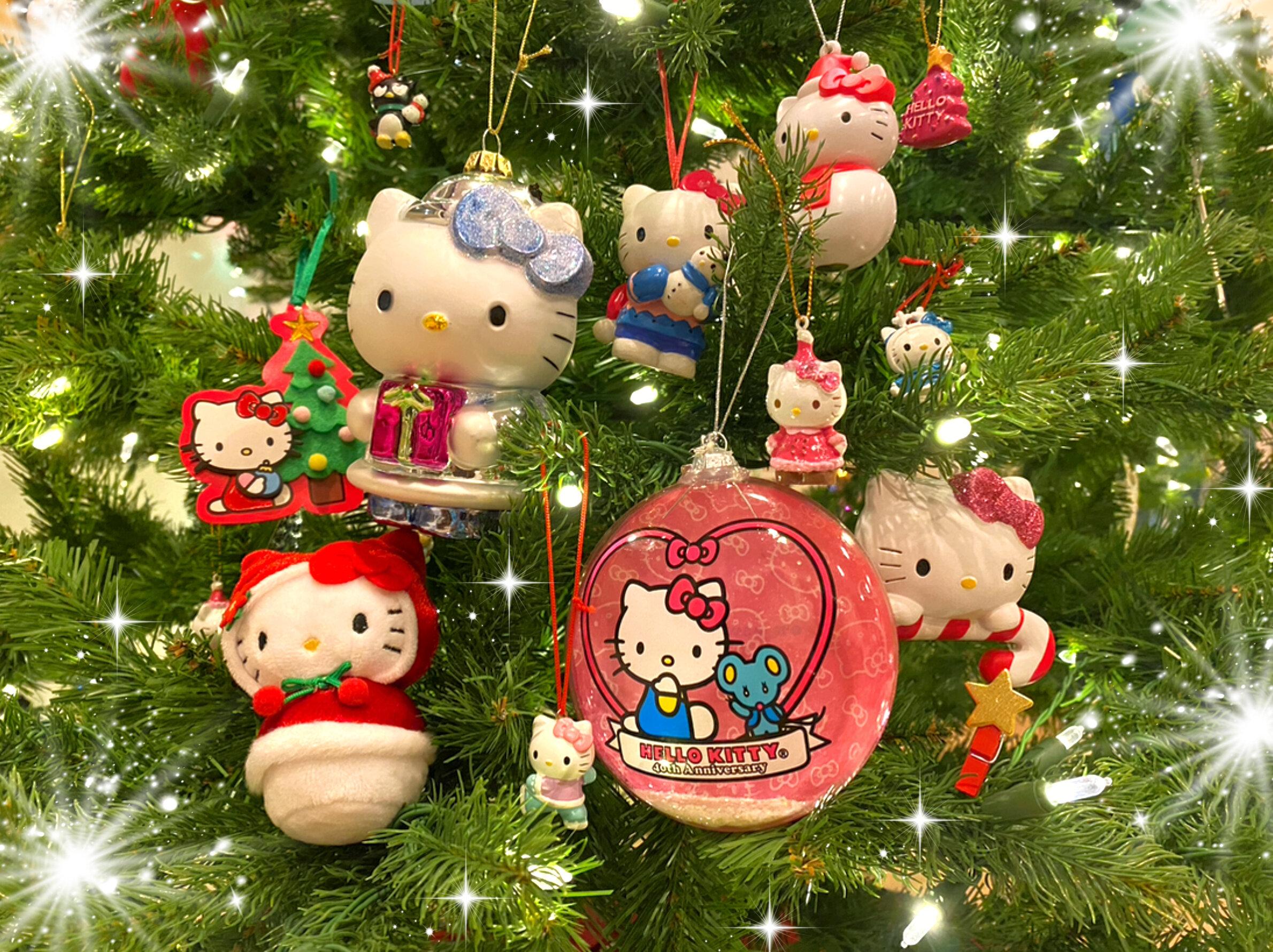 Hello Kitty Christmas Tree Ornament Hallmark