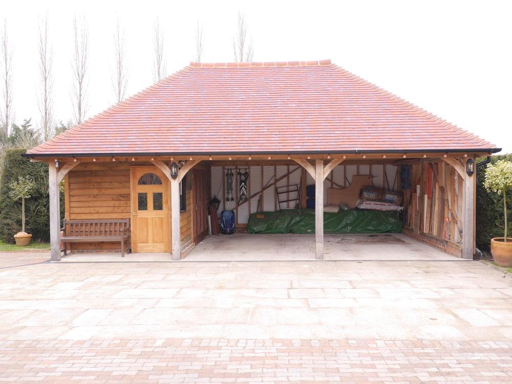 oak garage and garden store