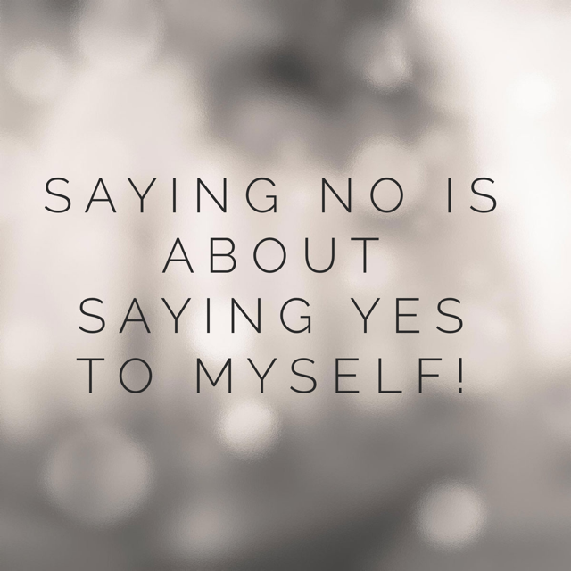 I would say no, so i CAN SAY YES! - Saying yes to yourself requires saying no to all the things that are not in service of your thriving. Setting boundaries is about finding the internal courage and power to embrace your desires and fearlessly pursue them.