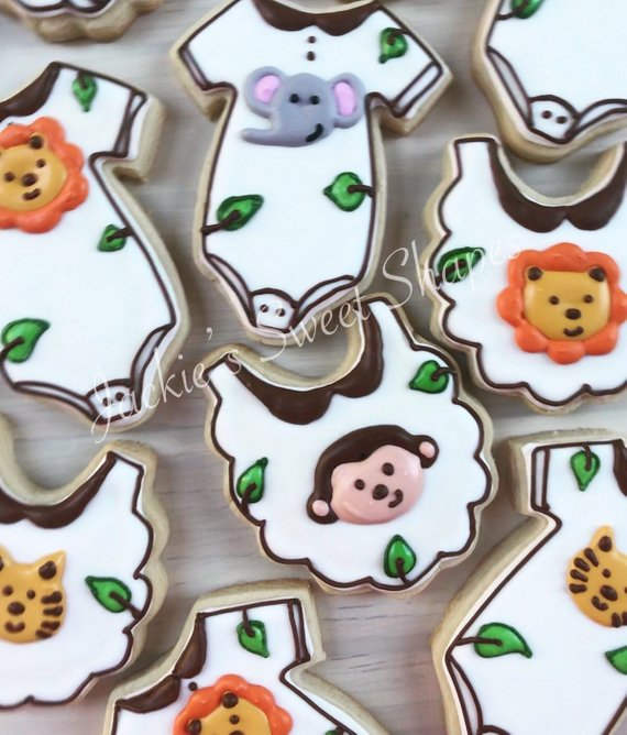 Halloween Themed Baby Shower Cookies.Gallery Jackie S Sweet Shapes
