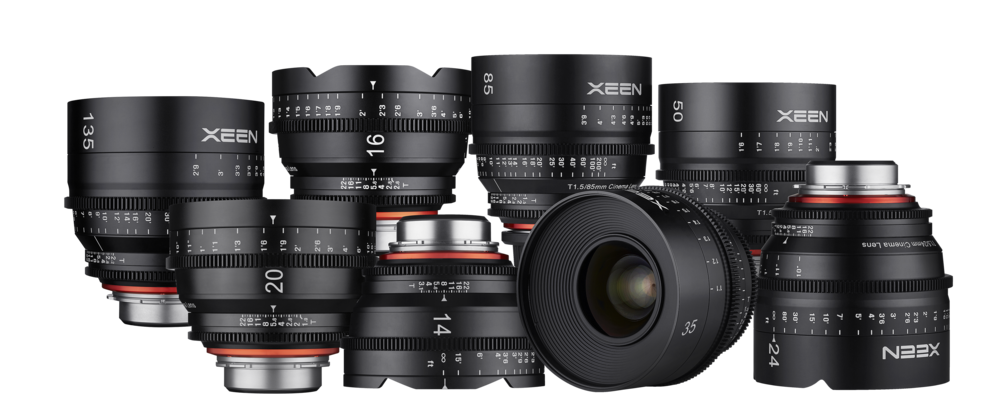 Xeen by Rokinon Professional Cinema Lenses