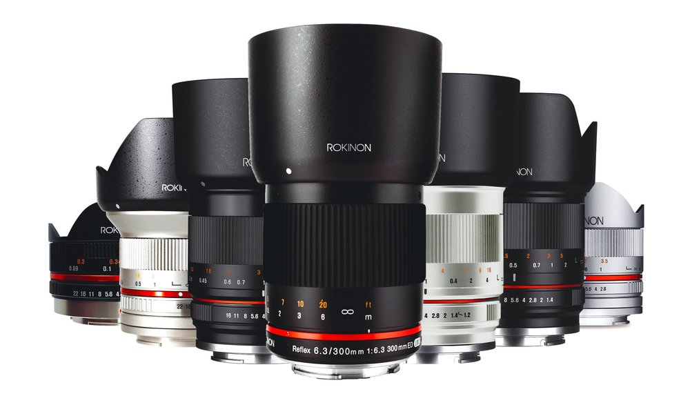 Rokinon Mirrorless Consumer Photo Lenses