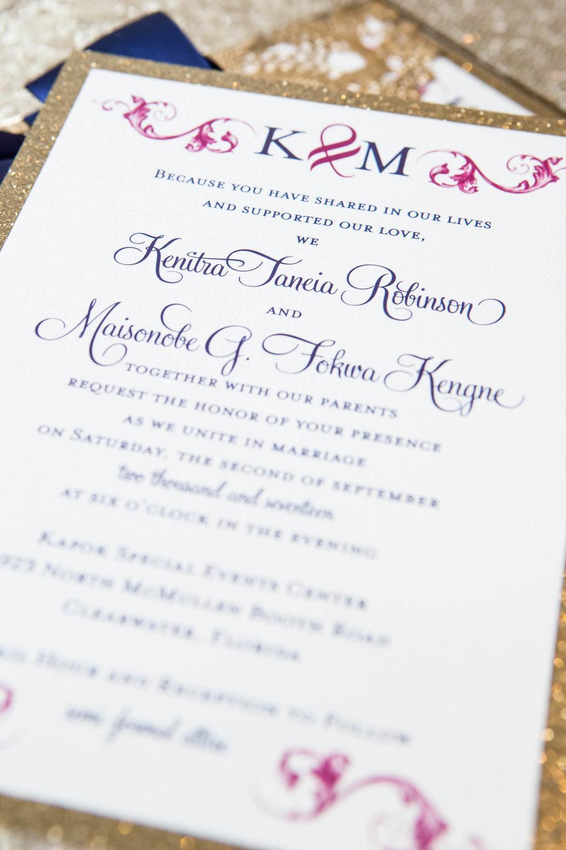 Fokwa Wedding Invitation
