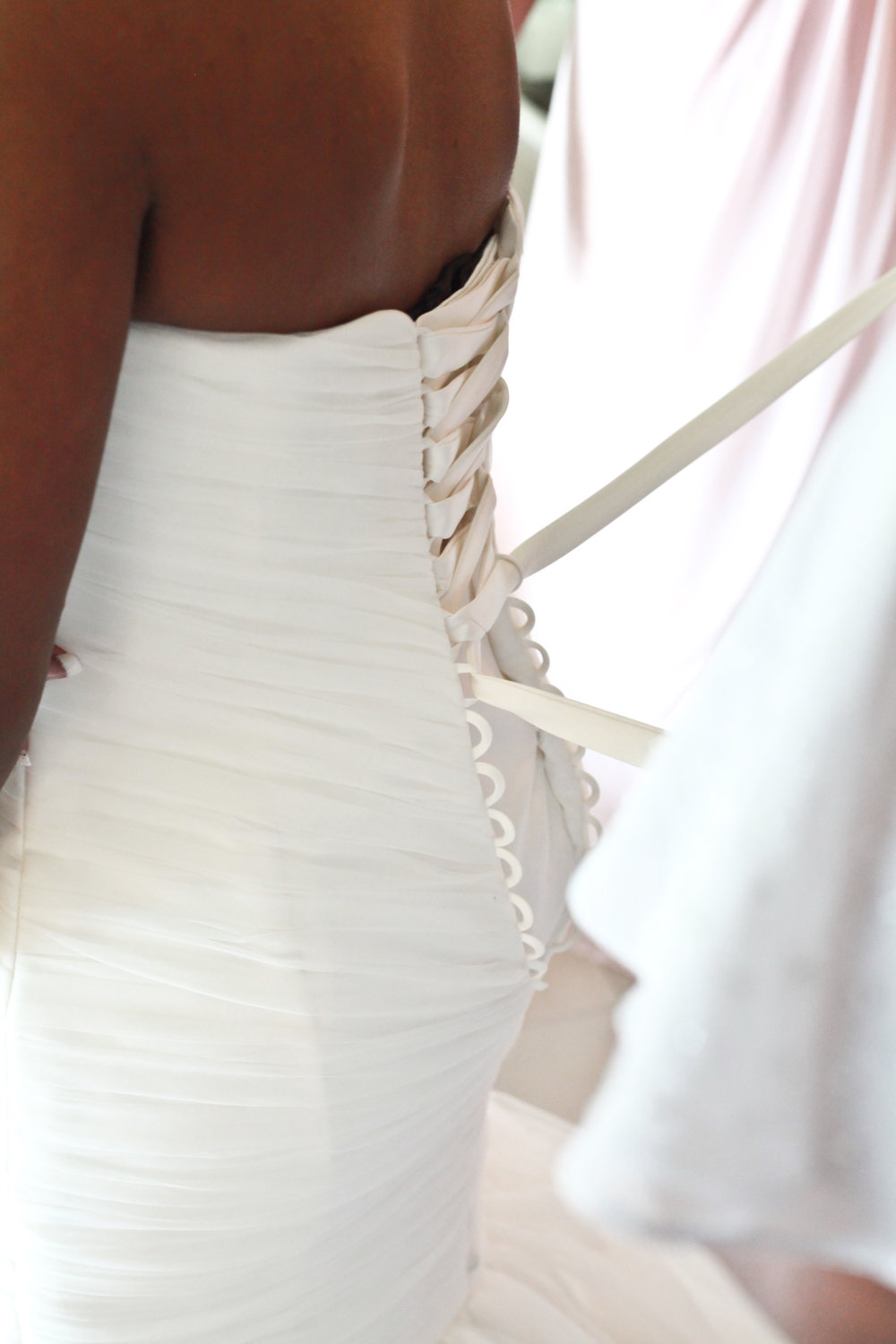 Jackson Wedding, Wedding Dress lace-up