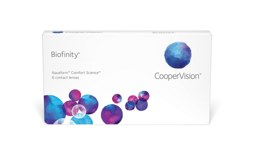 Coopervision Biofinity - Monthly - Sphere, Toric, MF