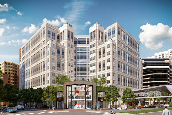 Ballston Exchange Facade Rendering