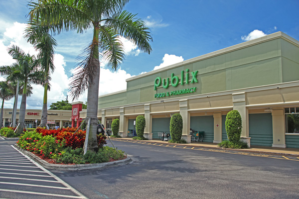 Polo Club Shops Publix Storefront with Street