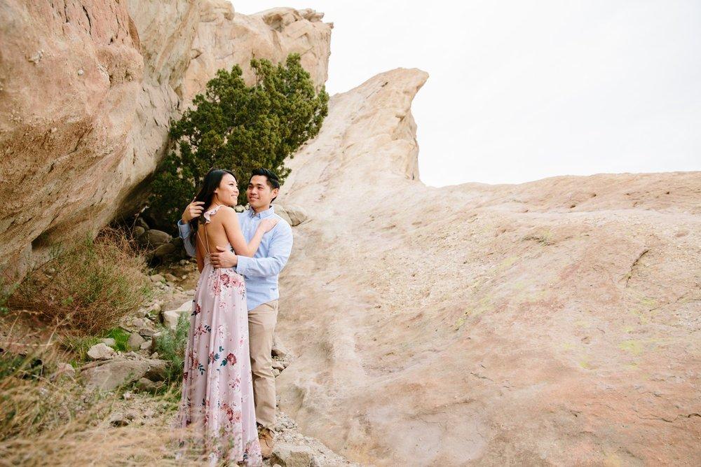Vasquez Rocks Engagement Kevin Le Vu Photography-26.jpg