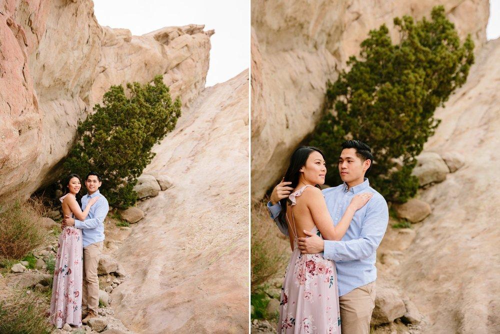 Vasquez Rocks Engagement Kevin Le Vu Photography-27.jpg
