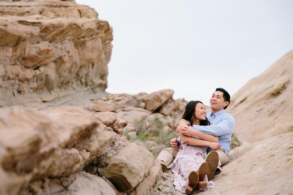 Vasquez Rocks Engagement Kevin Le Vu Photography-32.jpg