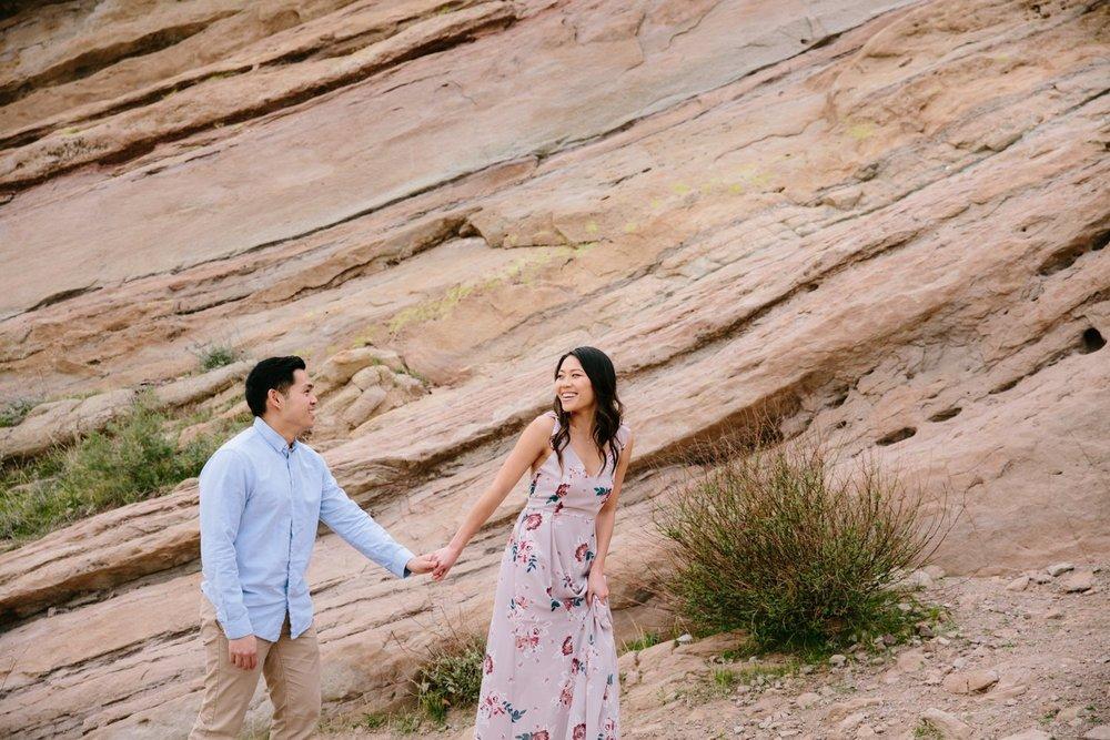 Vasquez Rocks Engagement Kevin Le Vu Photography-35.jpg