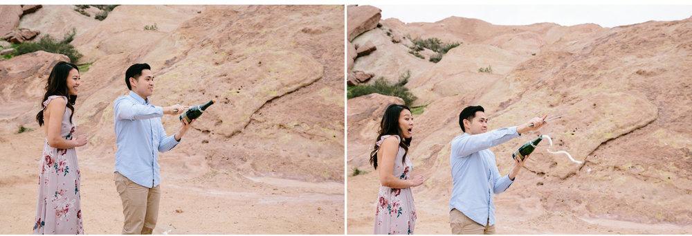 Vasquez Rocks Engagement Kevin Le Vu Photography-38.jpg