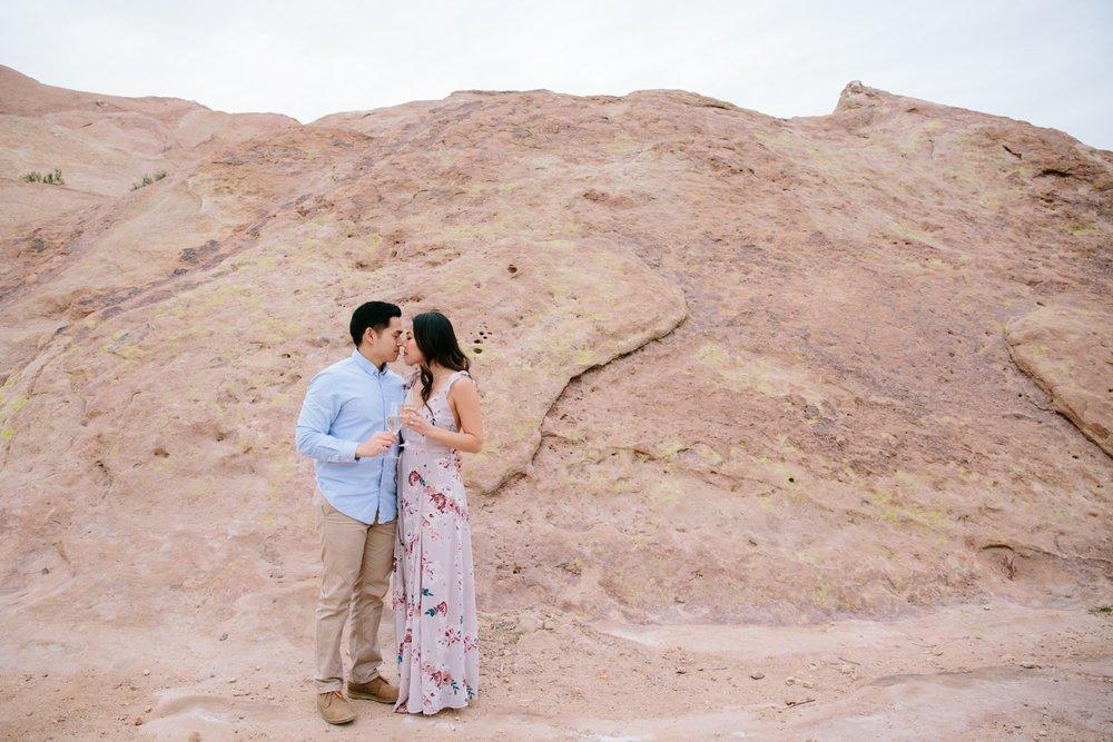 Vasquez Rocks Engagement Kevin Le Vu Photography-43.jpg
