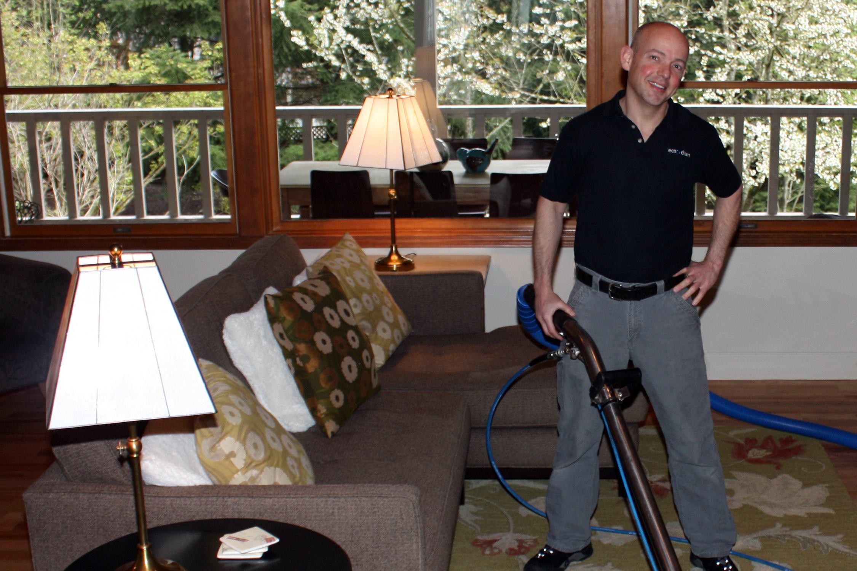 Walt Bush, owner of Eco Clean
