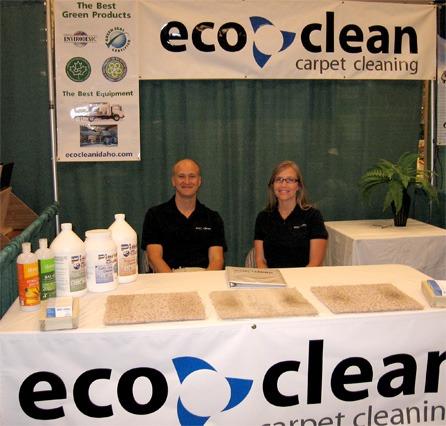Jarrod and Allison Clymer of Eco Clean