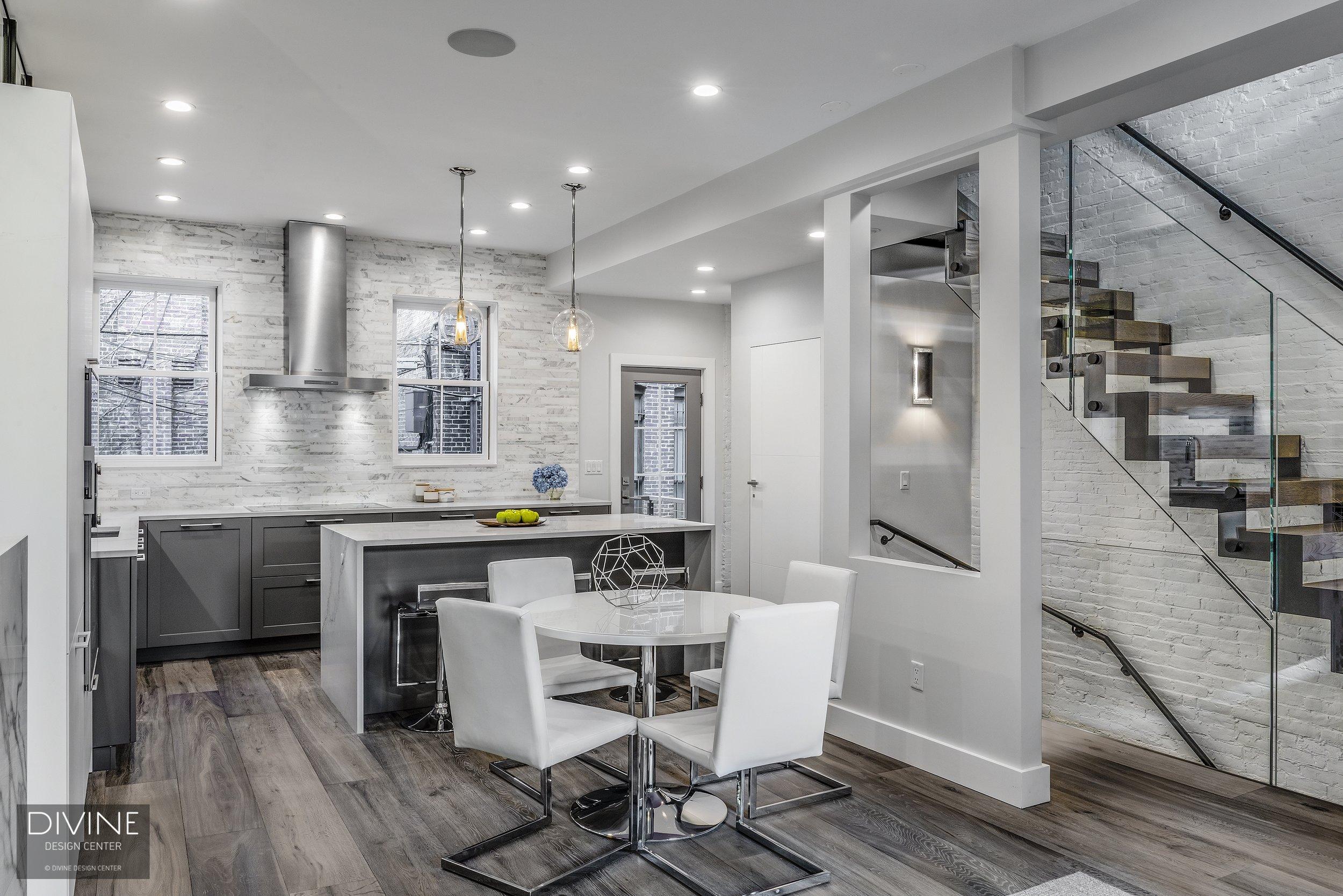 Boston South End Brownstone Gut Renovation — Divine Design ...
