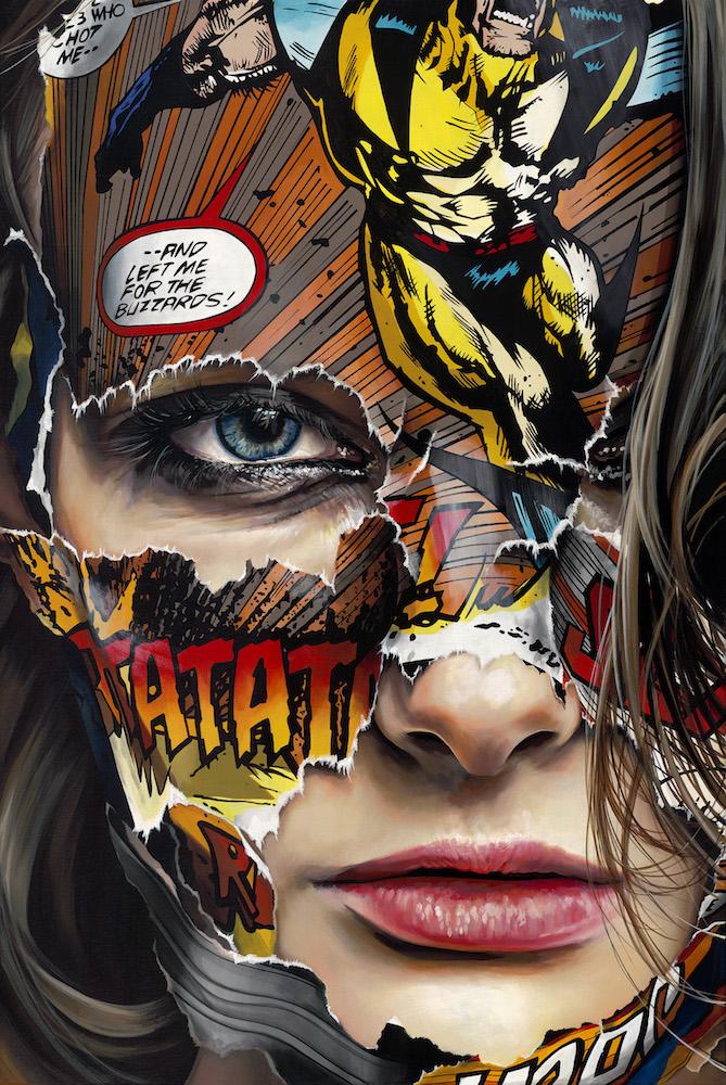 La Cage et le noir charbon_ 36 x 24 in. 5800 $ usd.jpg