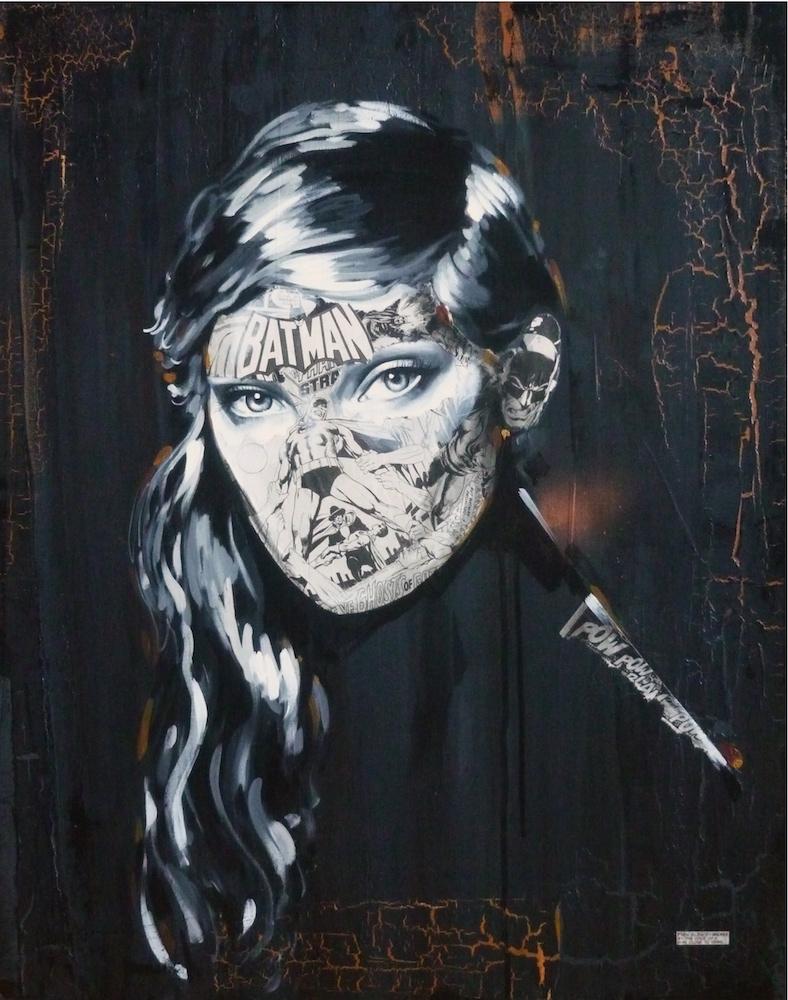 La Cage où le silence fût briser par la voix d'un homme au bord des larmes, 24X30, 2013300dpi.jpg