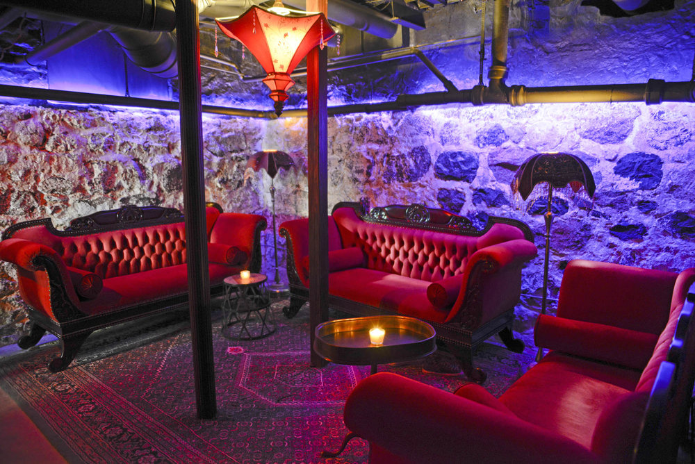 Maxwell Mansion Bar Basement Speakeasy Lounge Area Lake Geneva Wisconsin.jpg