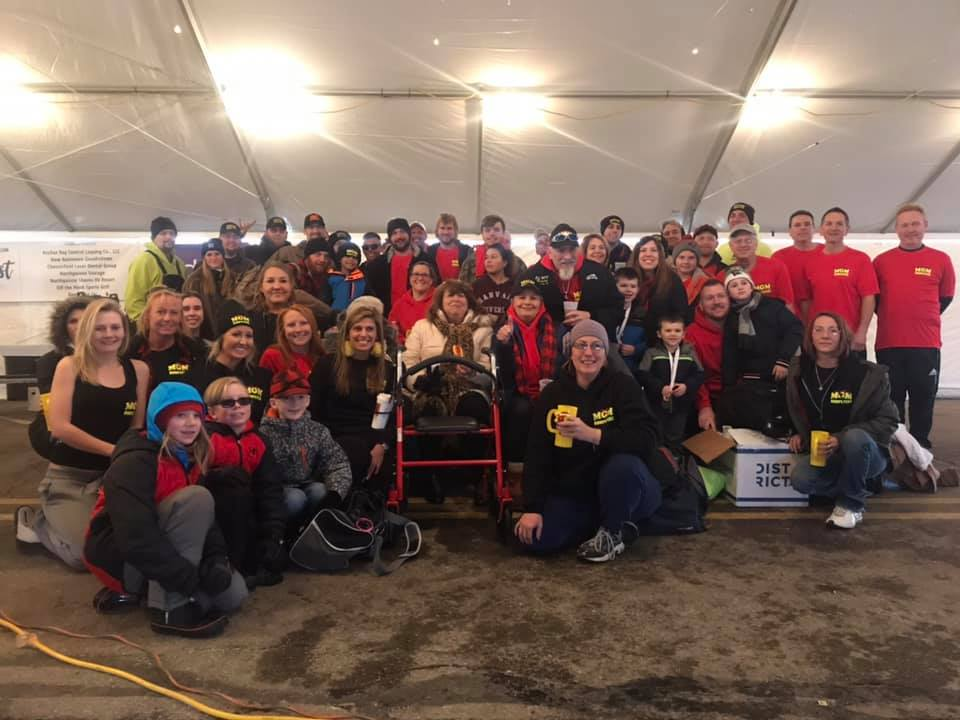2019 Polar Plunge Team MGM Trash Talkers