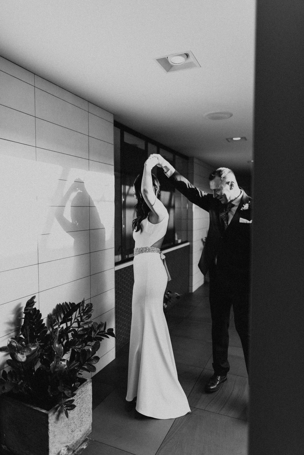 The Hewing Hotel New Years Ever Wedding Minneapolis