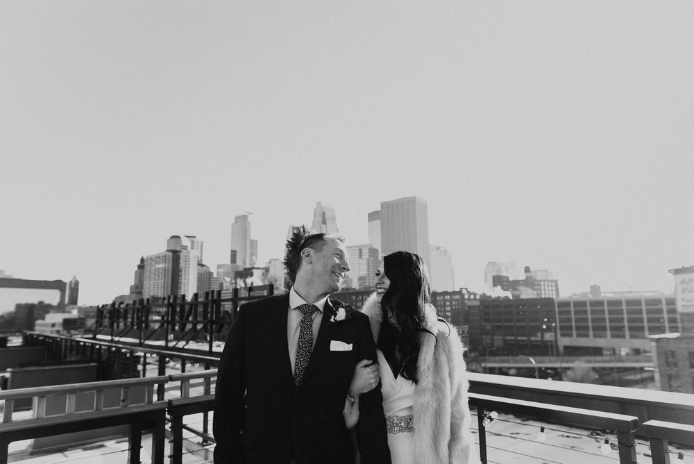 North Loop New Years Wedding at The Hewing