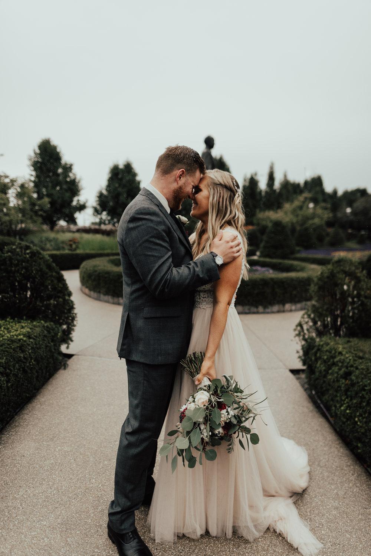 Minneapolis courtyard wedding