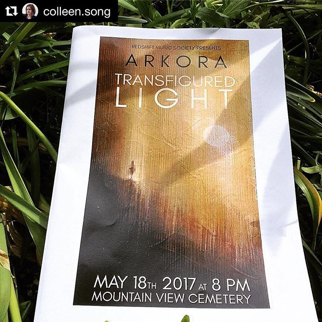 "Thanks @colleen.song ! #Repost @colleen.song (@get_repost) ・・・ Went to @arkoramusic Transfigured Night concert... I'm still in awe. An outstanding performance with some fascinating new works by @bentonroark & @ubc_music's Dorothy Chang exploring microtonality & the Lumiphone. @kathleenallan sang David Lang's haunting piece ""death speaks"" beautifully."