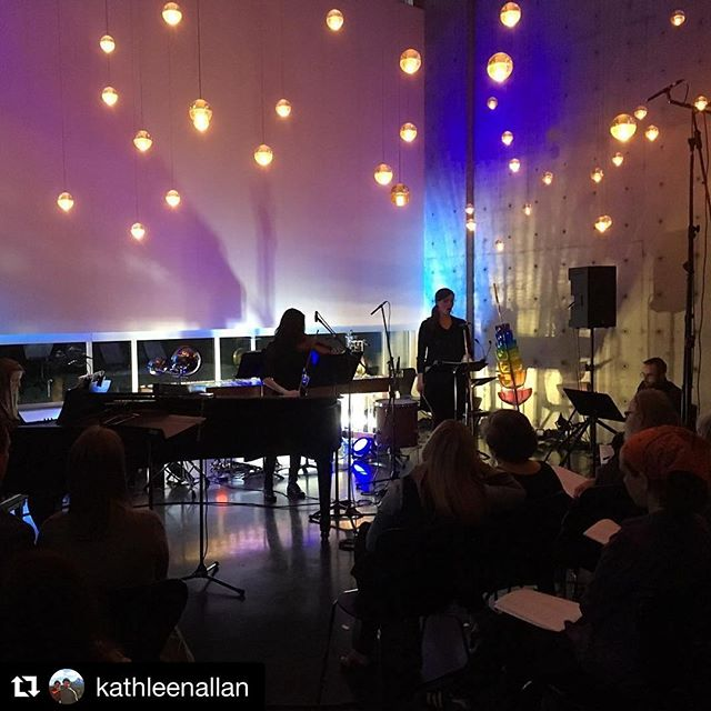 #Repost @kathleenallan (@get_repost) ・・・ #TransfiguredLight was such an incredible experience! Thank you to Redshift for presenting @arkoramusic and to all of the musicians and composers from near and far who made this such a moving concert!