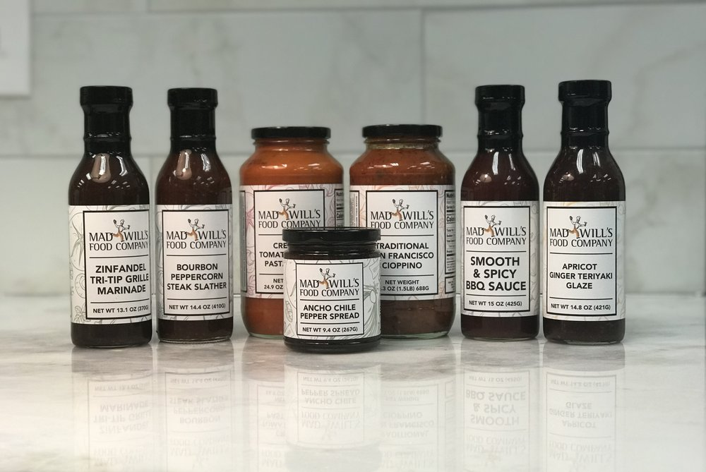 Mad Will's Sauces and Spreads