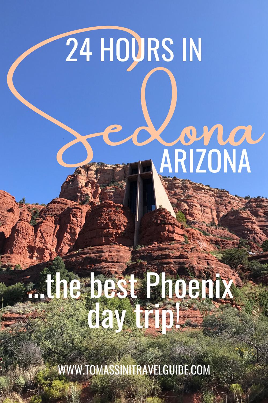 Distance From Sedona To Phoenix >> 24 Hours In Sedona Arizona Tomassini Travel Guide