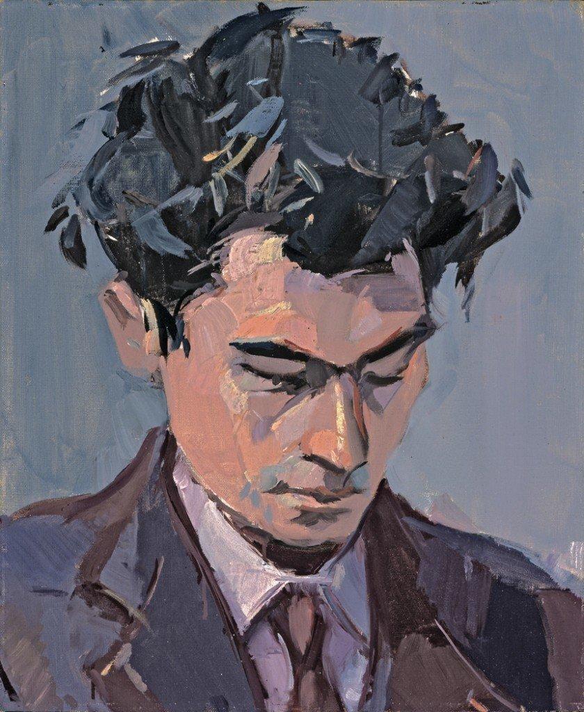 Portrait of Jacques Lusseyran, Jean Hélion. (Image credit: Museum of Fine Arts St. Petersburg)
