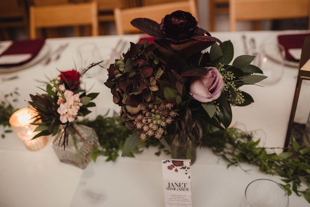 Floral and design by Atmospheric Events Group