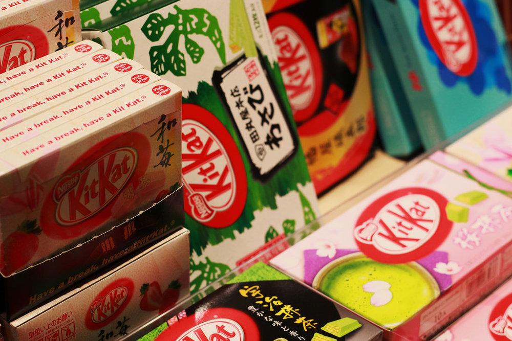 Japanese Kit Kat Treats