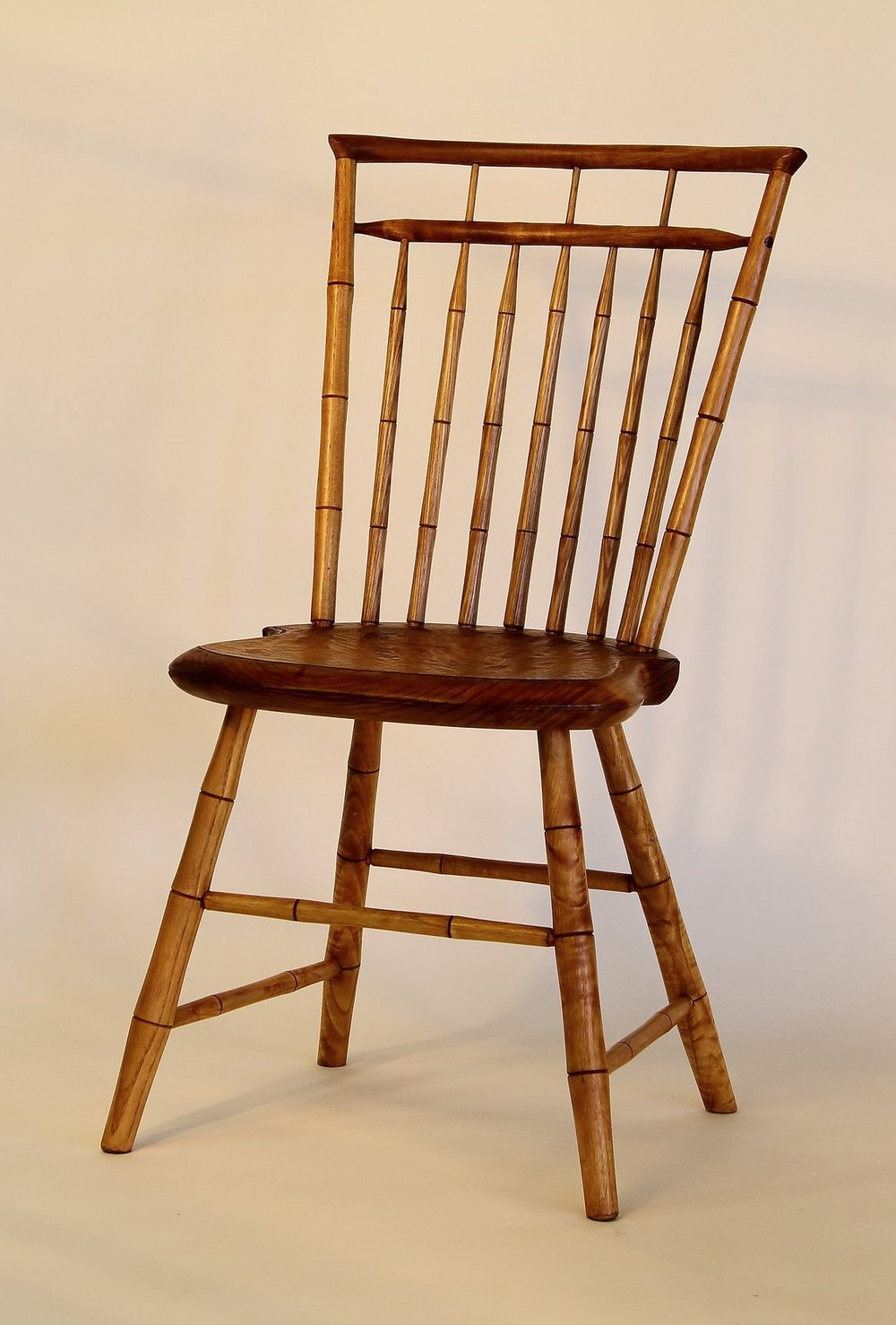 Double Rod-back Windsor Side Chair