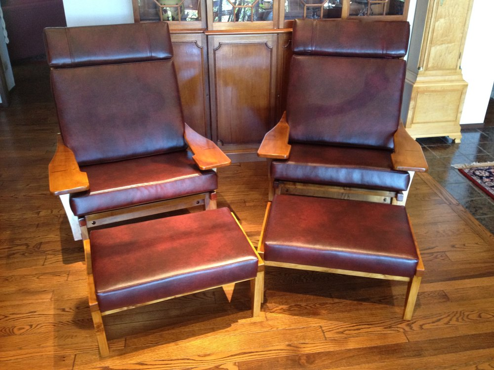 Danish Style Lounge Chairs