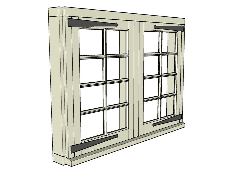 Window design detail