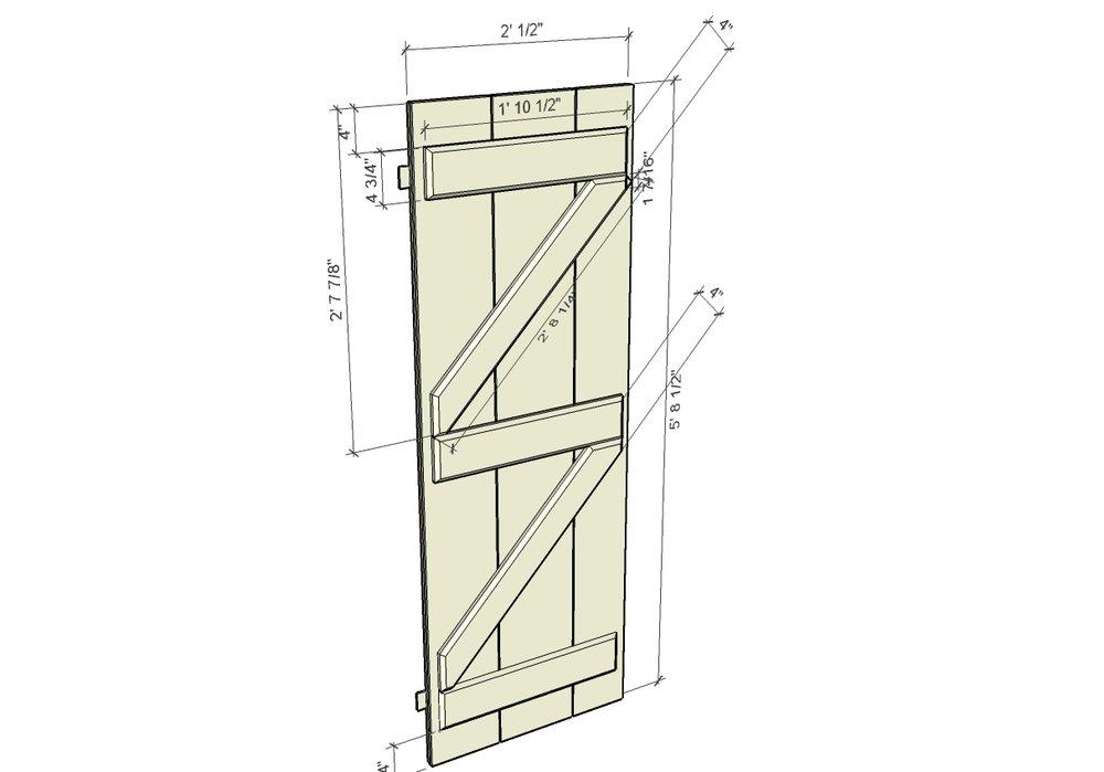 Door design detail