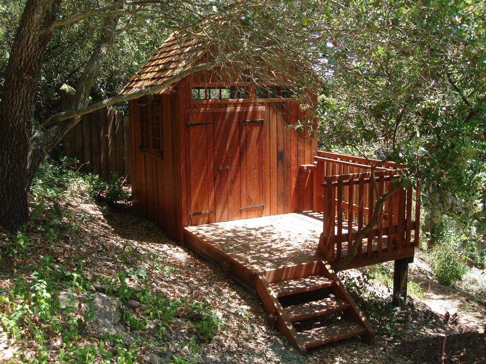 Redwood Timber Frame