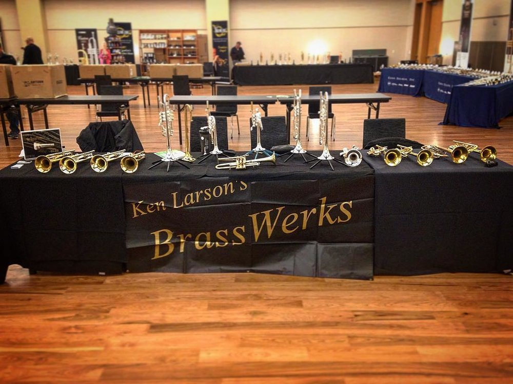 Musicians welcome! - At BrassWerks I strive to build a trumpet to fit your individual needs. Every trumpet is custom hand built by me to fit you. At a price point between the two major manufacturers (let's just call them B and Y), why not treat yourself to a trumpet that truly fits.