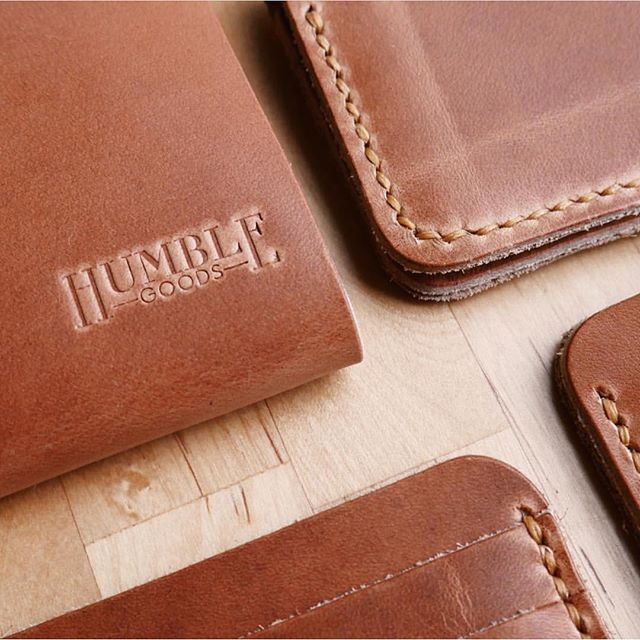 A little leather ❤️ from our friends at @_humblegoods_! Catch them next Saturday (3/30) at @thisisrevelry's #makersmarketatx!
