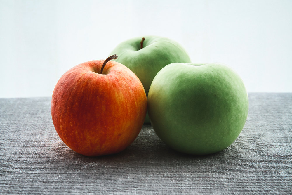 apples - 90 percent of conventional apples had detectable pesticide residues.80 percent of apples tested contained diphenylamine, a pesticide banned in Europe.