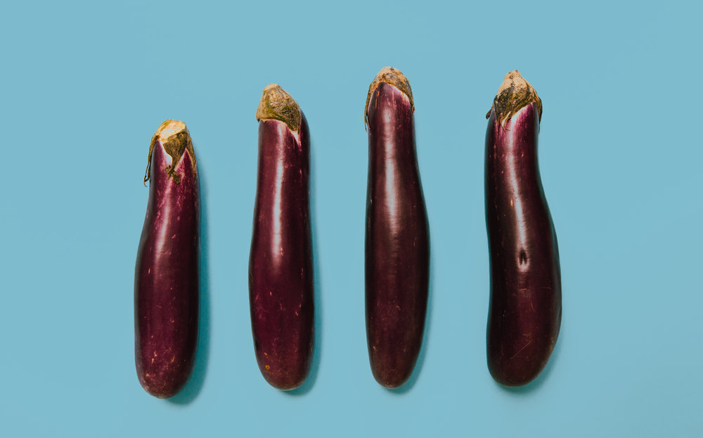 eggplants - About three-fourths of all conventional eggplants tested contained no pesticide residues.No more than three pesticide residues were detected on any sample of conventionally grown eggplant.