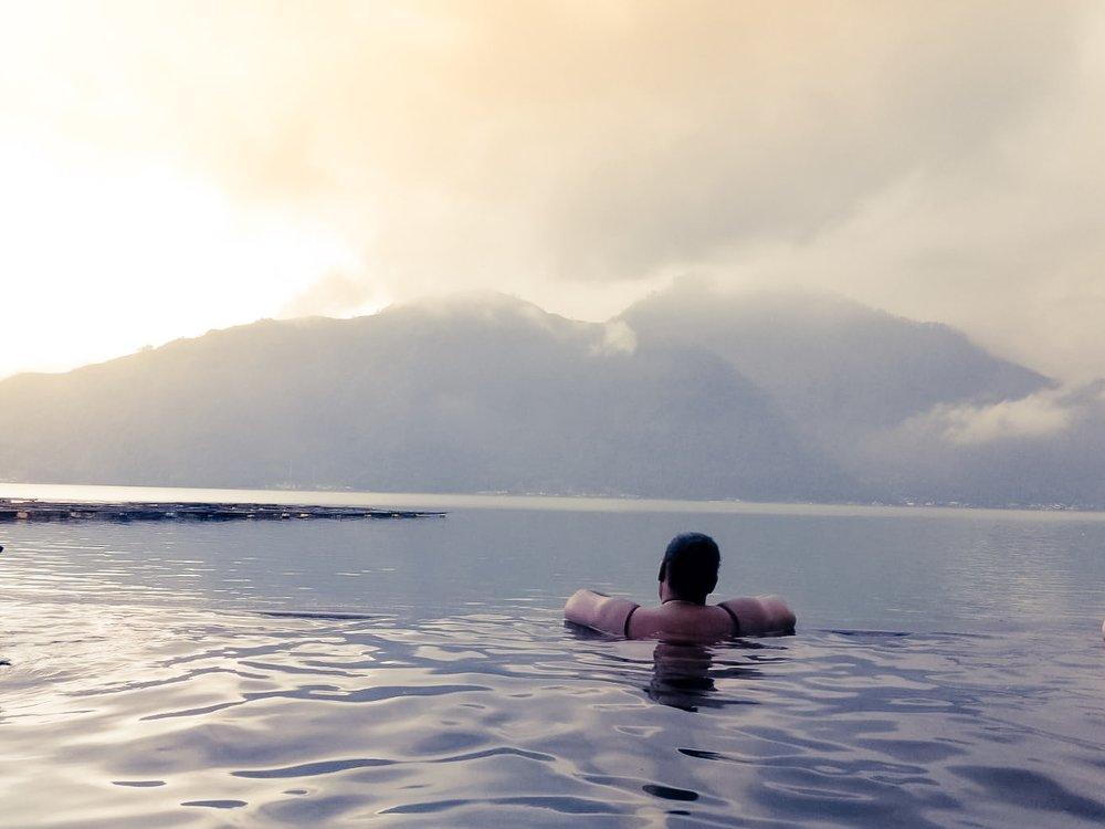 hot springs in bali