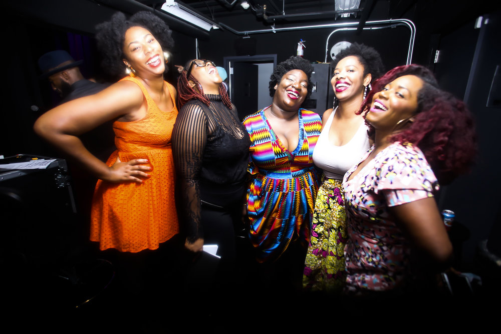 Backstage with Black Girls Giggle at Lipstick 'N Laughter during Essence Festival, New Orleans